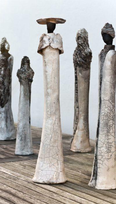 Sculptures Marie Juge Défilé de Mode Haute Couture